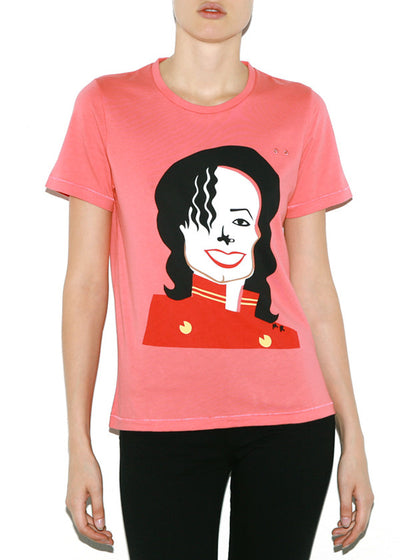 MJ, Celebrities by Michael Roberts, Women Regular Fit T-shirt - ONETSHIRT