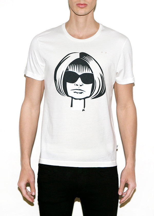 ANNA W, Fashionistas by Michael Roberts, Men Regular Fit T-shirt-T-shirt-ONETSHIRT