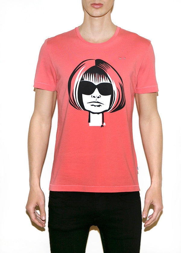 ANNA W, Fashionistas by Michael Roberts, Men Regular Fit T-shirt - ONETSHIRT