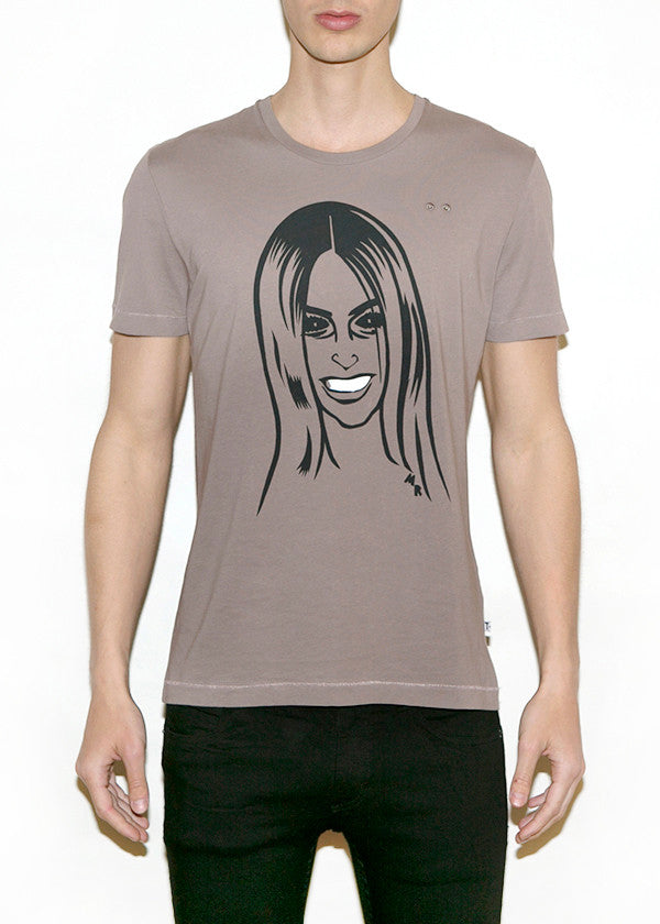CARINE, Fashionistas by Michael Roberts, Men Regular Fit T-shirt-T-shirt-ONETSHIRT