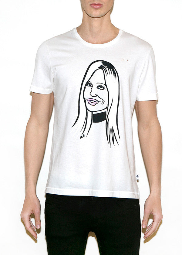 DONATELLA, Fashionistas by Michael Roberts, Men Regular Fit T-shirt-T-shirt-ONETSHIRT