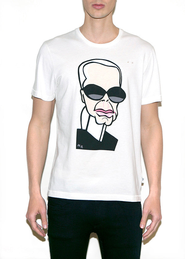 KARL, Fashionistas by Michael Roberts, Men Regular Fit T-shirt-T-shirt-ONETSHIRT