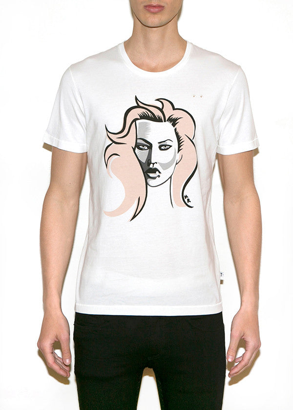 KATE, Fashionistas by Michael Roberts, Men Regular Fit T-shirt-T-shirt-ONETSHIRT