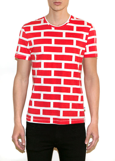 BRICKS BIG Men Regular Fit T-shirt - ONETSHIRT
