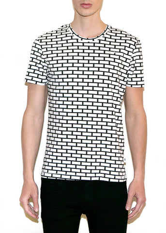 BRICKS SMALL Men Regular Fit T-shirt