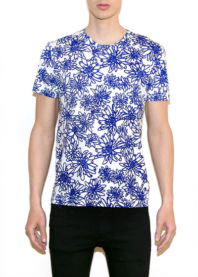 FLOWERS SMALL Men Regular Fit T-shirt - ONETSHIRT