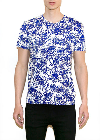 FLOWERS SMALL Men Regular Fit T-shirt