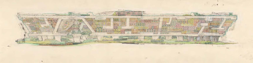 Village Design for Mesa City, 1960