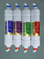 UF Replacement Water Filter Set with Quick Release Fittings