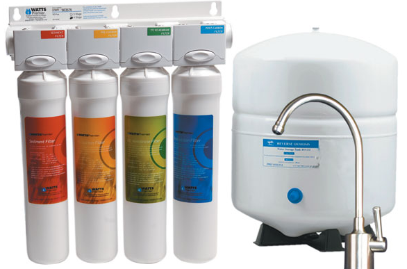 Undersink Reverse Osmosis Water Filtration System