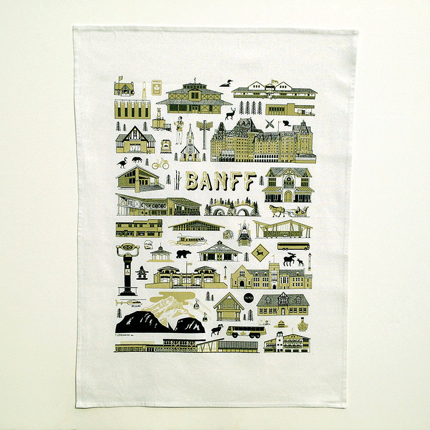 Banff Tea Towel
