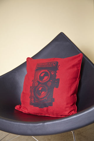Pillow Yashica Red