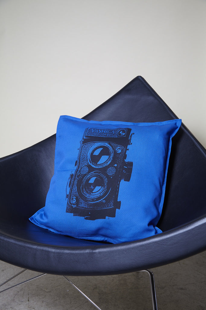 Pillow Yashica Blue
