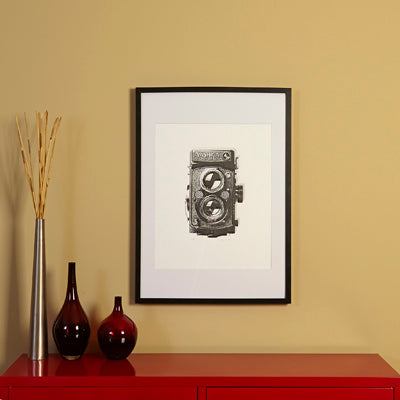 Screen Print - Yashica Camera