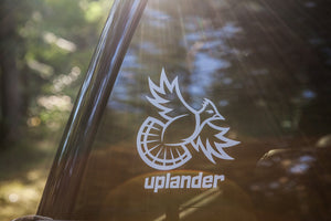 'THUNDER FLUSH' RUFFED GROUSE DECAL