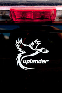 Pheasant Hunting Vinyl Truck Window Decal