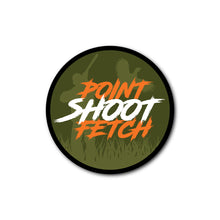 Load image into Gallery viewer, 'POINT SHOOT FETCH' STICKER