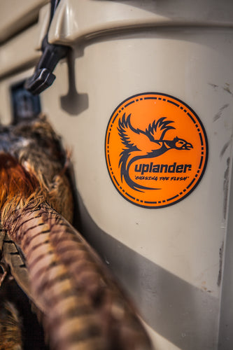 UPLANDER STICKER - Upland Hunting Cooler Decal