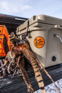 Pheasant Hunting Truck Sticker