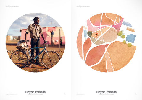 Bicycle Portraits signed limited edition poster set 2