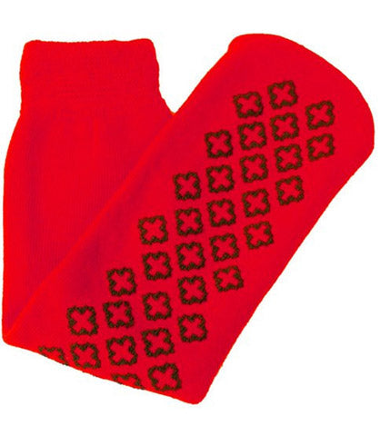 These Red Cast Socks Will Keep Your Feet Warm and Your Cast Protected