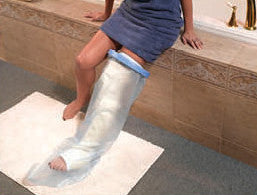 leg-cast-protector-for-shower
