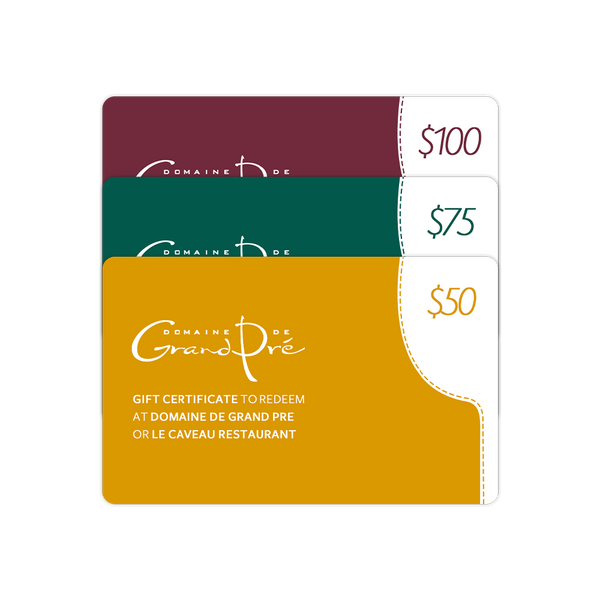 Gift Card - Valid in the Wine Shop and the Restaurant