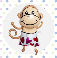 Animal - Lovely Monkey 2 - Papamama.sg