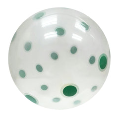 White (w Green Polka) - Papamama.sg