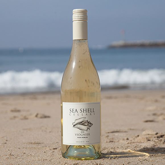 Seashell Cellars Viognier on the Paso Robles Beach