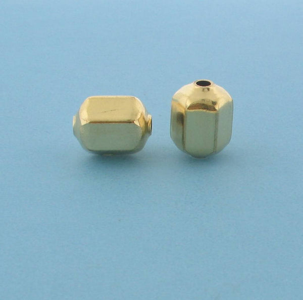 1049 - 9x11.2mm Gold Filled Fancy Bead