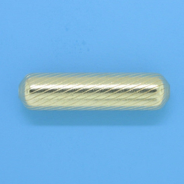 1083 - 6.2x25.3mm Gold Filled Fancy Bead