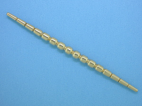 1148 - 4x75mm Gold Filled Fancy Bead