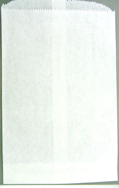 11083 - 8.5inx11in White Paper Bag (100 Bags)
