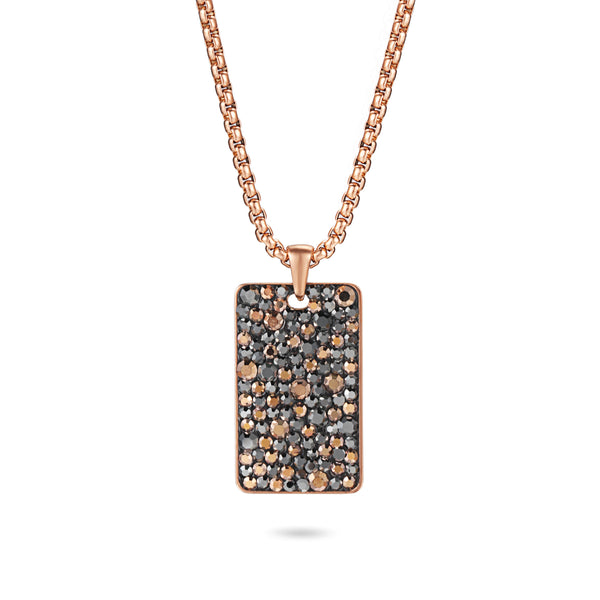 Women Pendant Necklace Crystal Tag - KINGKA Jewelry
