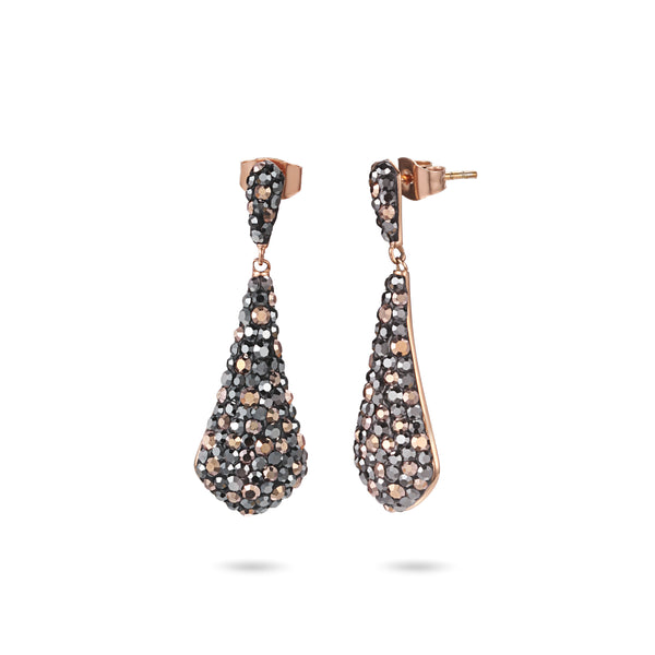 Women Earrings Crystal Drop