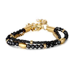 Women Wrap-Around Bracelet Crystal