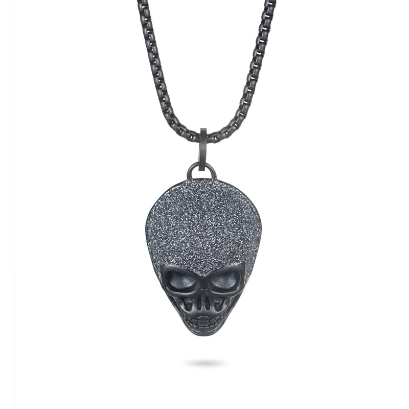 Women Pendant Necklace Stardust Skull