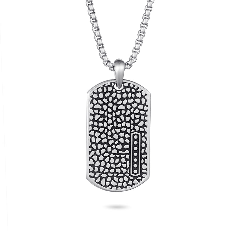 Men's Dog Tag Necklace Reptile
