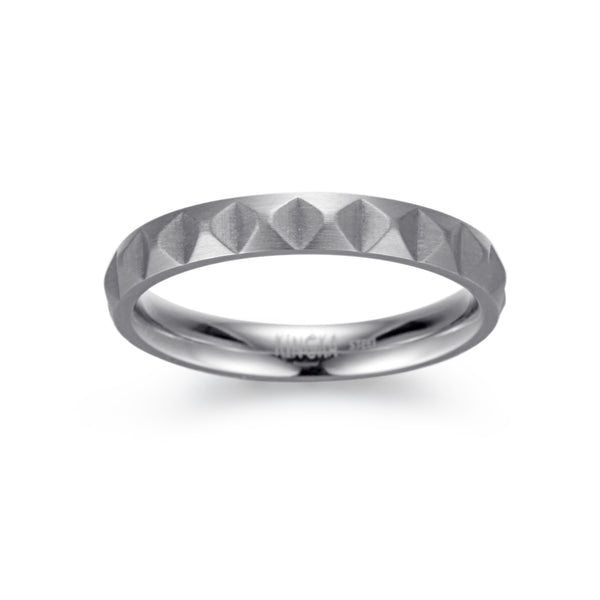 Men's Ring Pyramid - KINGKA Jewelry