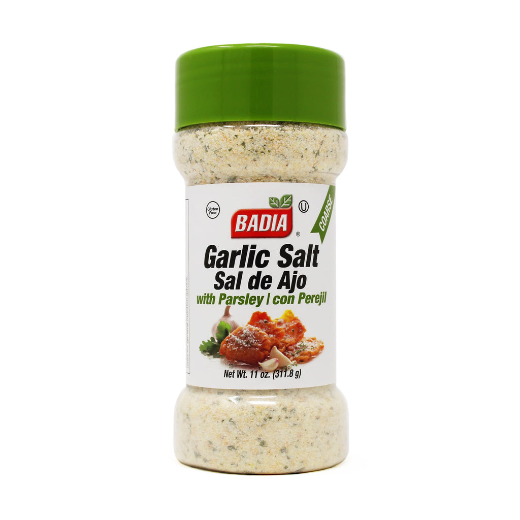 Badia Coarse Garlic Salt with Parsley 11oz