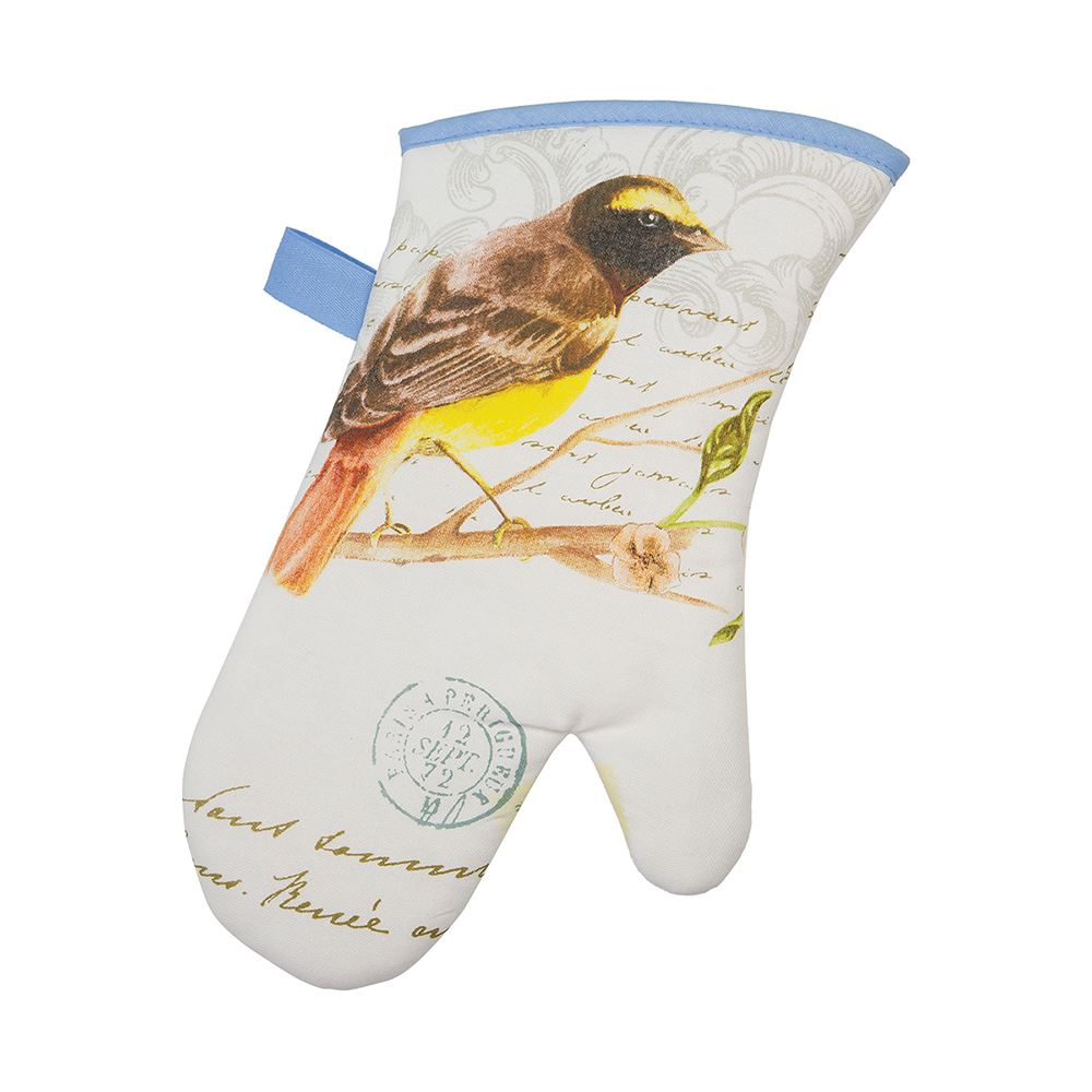 Premium Songbird Single Oven Glove