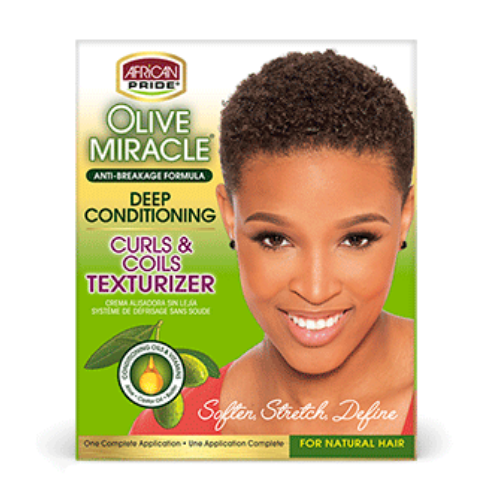African Pride Olive Miracle Texturizer Kit