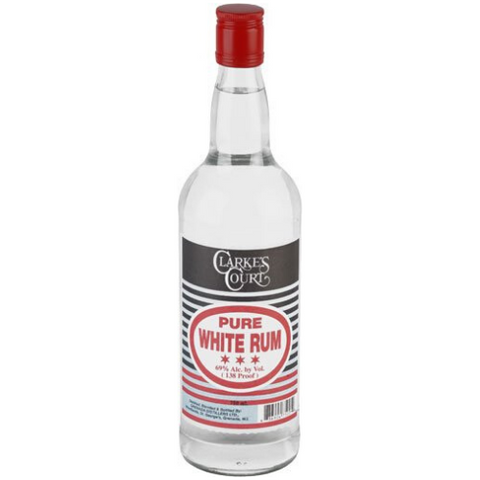 Clarke's Court pure white rum