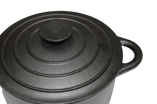 Black Cast Iron Dutch Oven 21cm