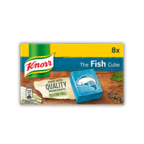 Knorr Fish Stock Cubes - 8 Cubes