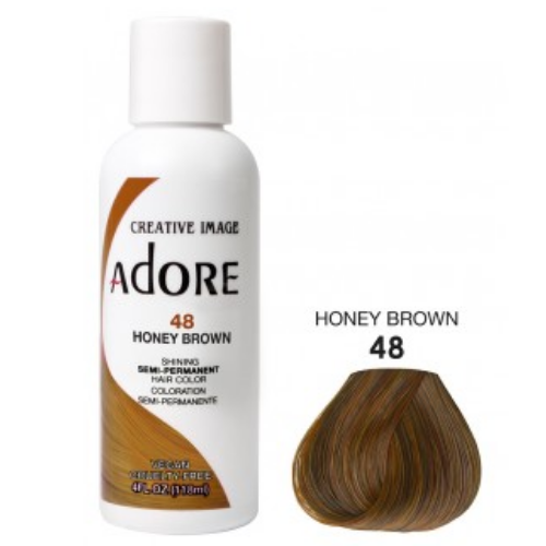 Adore Semi-Permanent Hair Colour - Honey Brown 48