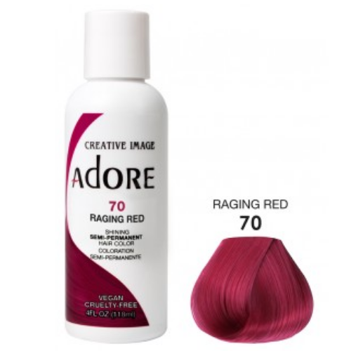 Adore Semi-Permanent Hair Colour - Raging Red 70