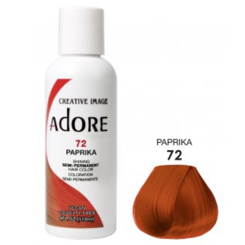 Adore Semi-Permanent Hair Colour - Paprika 72