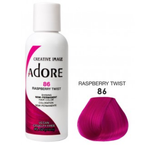 Adore Semi-Permanent Hair Colour - Raspberry Twist 86